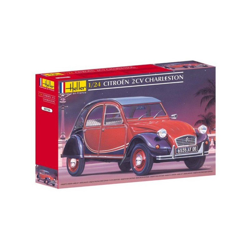 maquette voiture heller 1 24 80766 citro n 2cv charleston. Black Bedroom Furniture Sets. Home Design Ideas