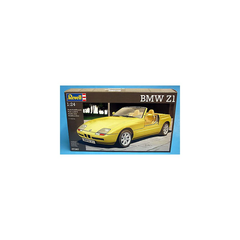 maquette voiture revell 1 24 07361 bmw z1. Black Bedroom Furniture Sets. Home Design Ideas