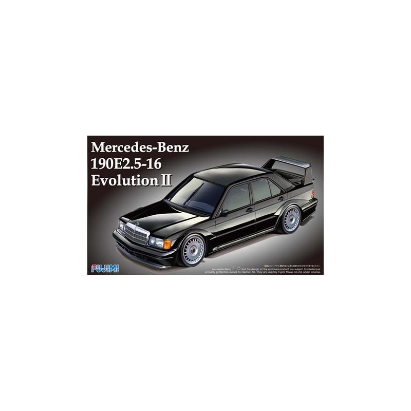 maquette voiture fujimi 1 24 mercedes 190e 2 5 16 evo2 12571. Black Bedroom Furniture Sets. Home Design Ideas