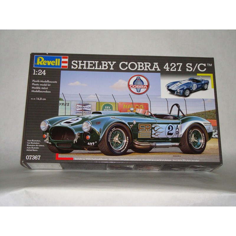 maquette voiture revell 1 24 07367 shelby cobra 427 s c. Black Bedroom Furniture Sets. Home Design Ideas