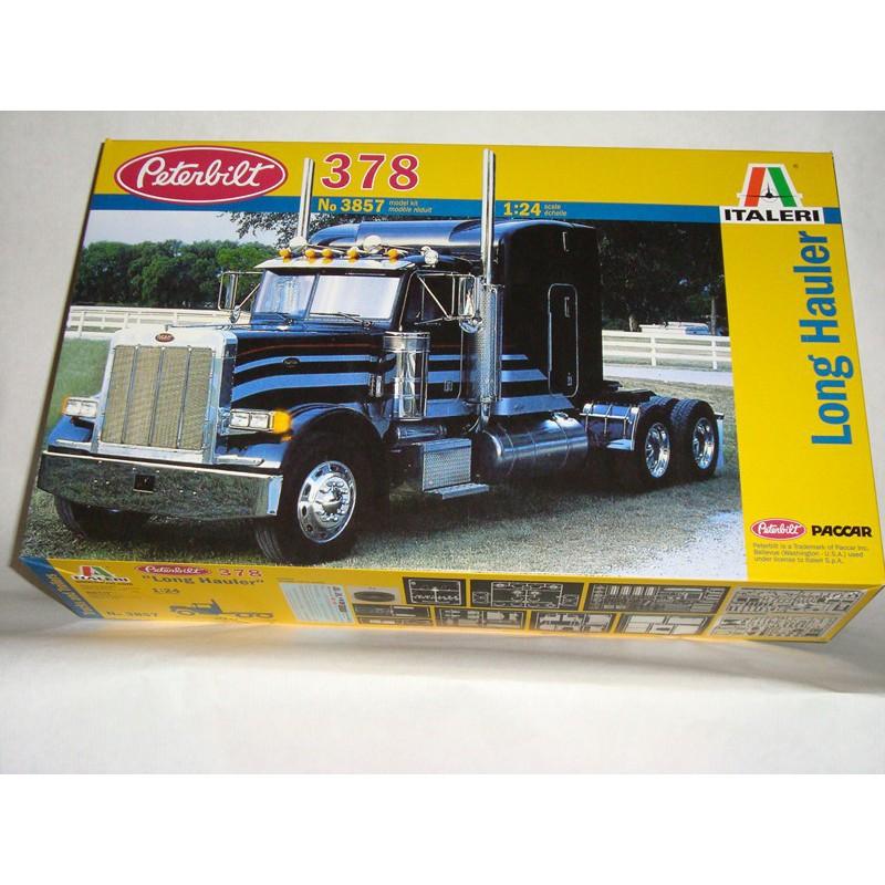maquette camion italeri 1 24 3857 peterbilt 378. Black Bedroom Furniture Sets. Home Design Ideas