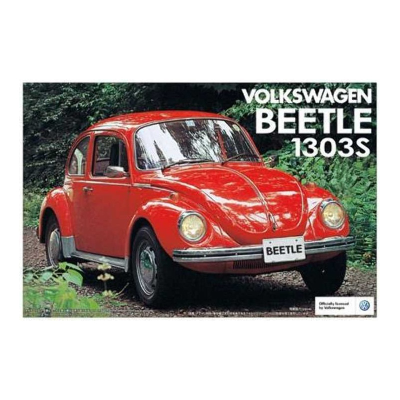 maquette voiture aoshima 1 24 vw beetle 1303s 04778. Black Bedroom Furniture Sets. Home Design Ideas
