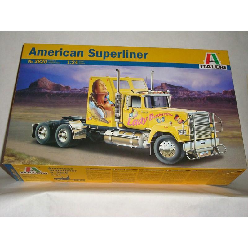 maquette camion italeri 1 24 3820 mack superliner. Black Bedroom Furniture Sets. Home Design Ideas