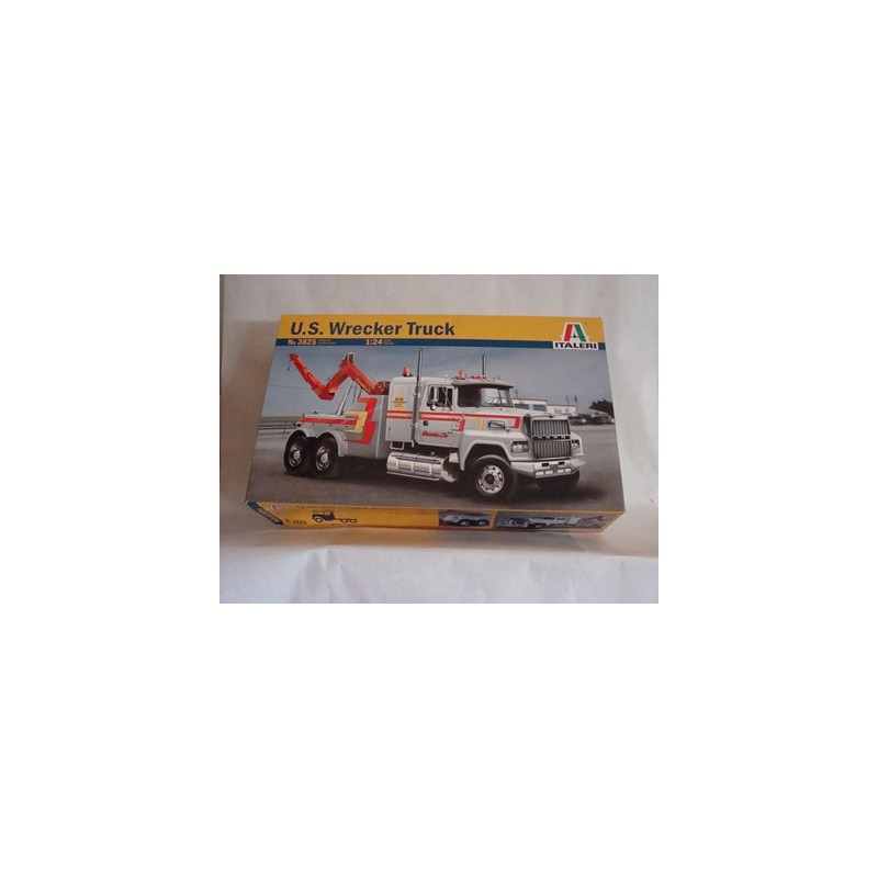 maquette camion italeri 1 24 3825 us ford wrecker truck. Black Bedroom Furniture Sets. Home Design Ideas